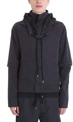 Cottweiler Grid-k-way Black Nylon Jacket