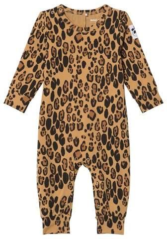 Beige Basic Leopard Baby Body