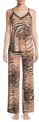 Natori Animal Printed Pajamas
