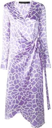 FEDERICA TOSI wrap front midi dress