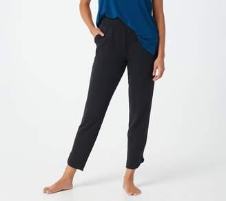 Cuddl Duds Comfortwear Petite Tulip Hem Slim Pants