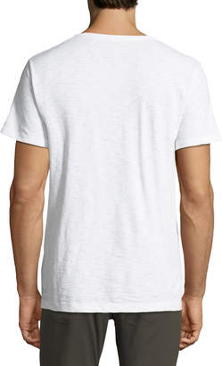 Vince Men's Short-Sleeve V-Neck Slub T-Shirt