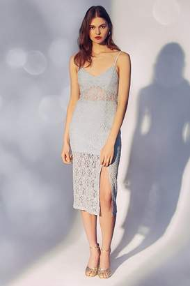 Line & Dot Ariana Lace Midi Dress