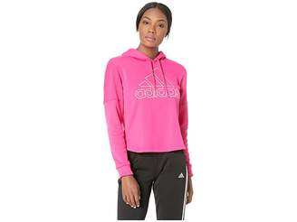 adidas Team Issue Pullover Hoodie Women's Clothing