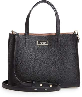 Kate Spade Medium Sam Leather Satchel
