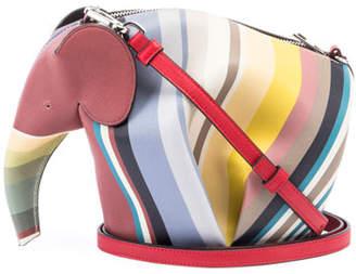 Loewe Elephant Stripes Mini Bag