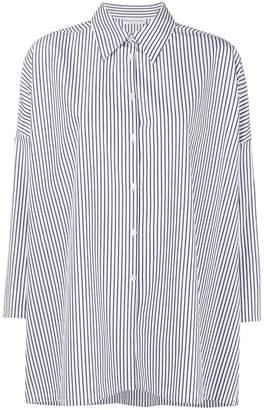 Sonia Rykiel striped oversized shirt