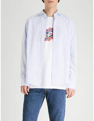 A.P.C. Mark regular-fit textured cotton shirt