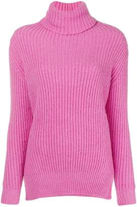 Avant Toi ribbed roll neck sweater