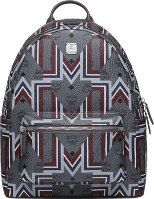 MCM Stark Backpack In Gunta M Visetos