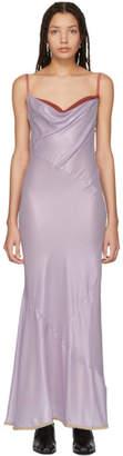 Acne Studios Purple Micelle Dress