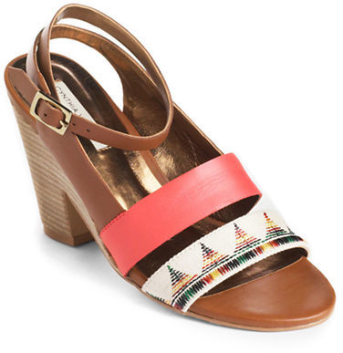 Twelfth St. By Cynthia Vincent Pamela Leather Sandals