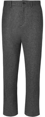 Mr P. Herringbone Brushed-Wool Trousers