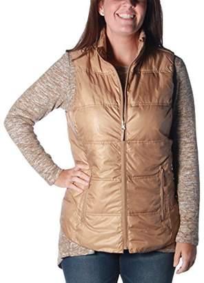 Tribal Women's Solid Puffer Vest