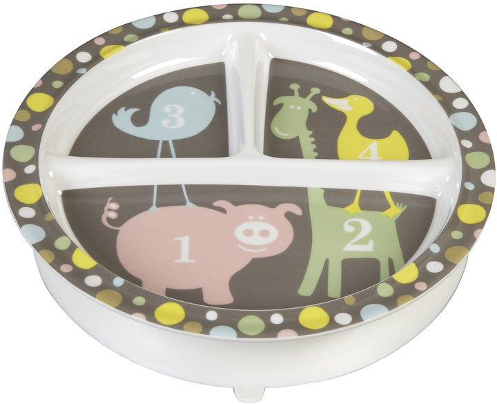 SugarBooger by O.R.E. Divided Suction Plate - Hoot!