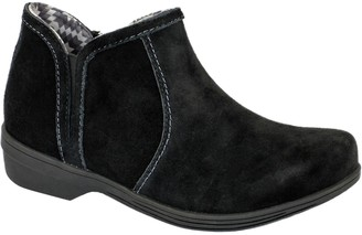 Revitalign Orthotic Suede Booties - Monrovia