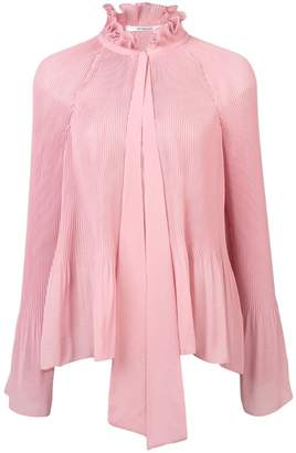 Derek Lam 10 Crosby Ruffle Collar Pleated Blouse