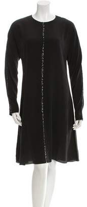 Schumacher Dorothee Silk Midi Dress w/ Tags