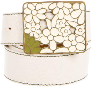 Paul Smith Embellished Leather Belt $95 thestylecure.com