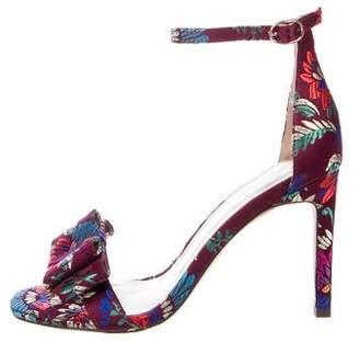 Joie Satin Jacquard Sandals