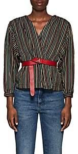 Ace&Jig Women's Summit Striped Cotton Cardigan Jacket