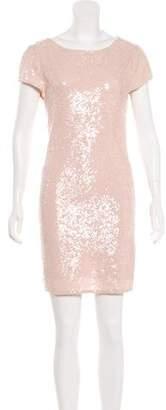 Alice + Olivia Sequin Embellished Mini Dress