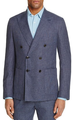 Thomas Pink Cayman Double-Breasted Linen Classic Fit Sport Coat - 100% Exclusive $495 thestylecure.com