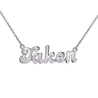 """True Rocks - Taken"""" Necklace Silver"""