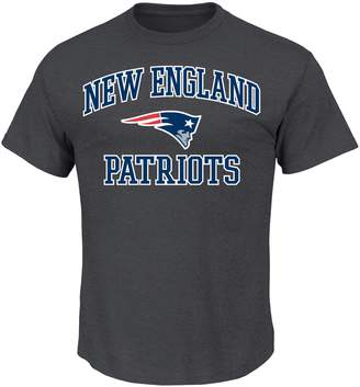 Majestic Big & Tall New EnglandPatriots Heart and Soul III Tee