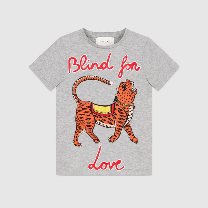 "Children's cotton t-shirt with ""Modern Future"" print 5"