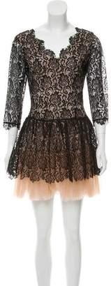 Nha Khanh Lace Mini Dress