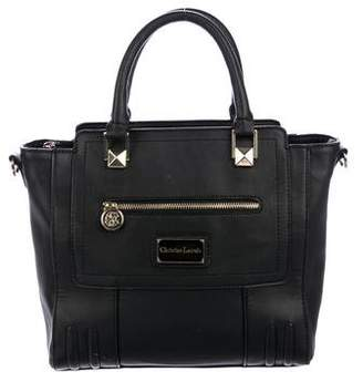 Christian Lacroix Leather Square Satchel