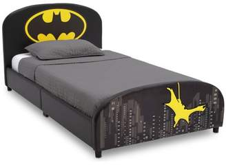 DC Comics Batman Upholstered Twin Bed by Delta Children