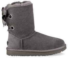UGG Bailey Shearling-Lined Suede Booties