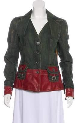 Christian Dior Denim & Leather Jacket