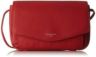 Le Tanneur Women's TTZ3A03 Clutch Red