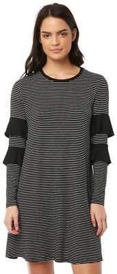 New Betty Basics Women's Chicago Dress Long Sleeve Viscose Elastane Black
