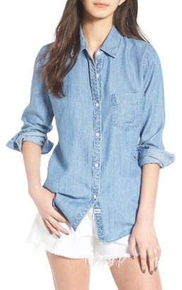 Women's Rails Ingrid Chambray Shirt $148 thestylecure.com