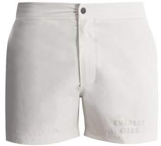 Everest Isles - Draupner 13 Swim Shorts - Mens - Beige