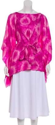 Michael Kors Silk Batik Tunic