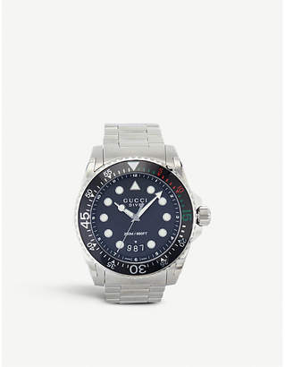Gucci YA136208 Dive stainless steel watch