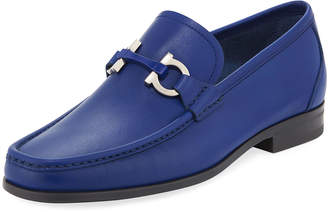 Salvatore Ferragamo Gancini Calf Leather Loafer