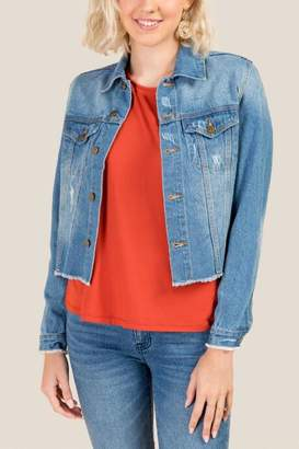francesca's Maine Denim Jacket - Lite