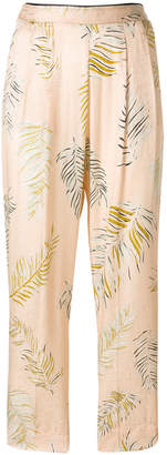 Forte Forte tropical print trousers