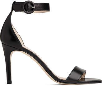 08a27853946 LK Bennett Black Leather Sandals For Women - ShopStyle UK