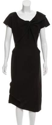 Louis Vuitton Wool Midi Dress
