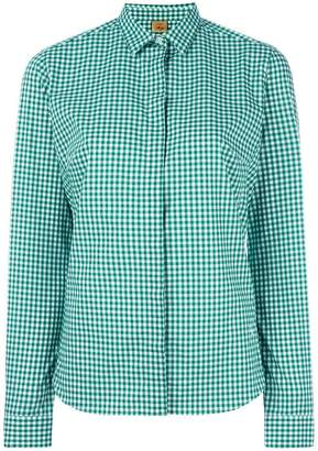 Fay checked shirt