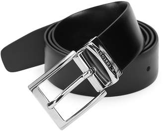 a. testoni Men's Classic Leather Belt