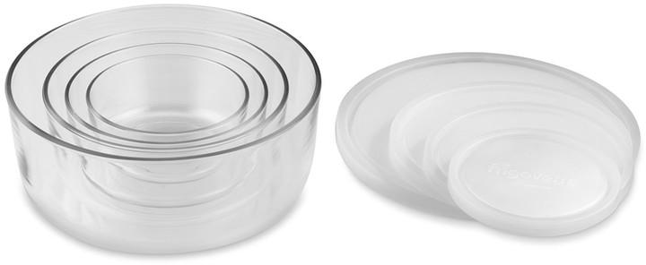 Williams-Sonoma Bormioli Rocco Glass Storage Container Set, Round