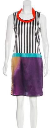 Liviana Conti Silk Printed Dress